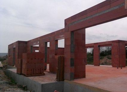 maison contemporaine plain pied élévation murs