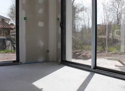 maison contemporaine bordeaux baie vitree