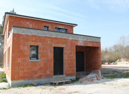 maison contemporaine bordeaux avec toit terrasse