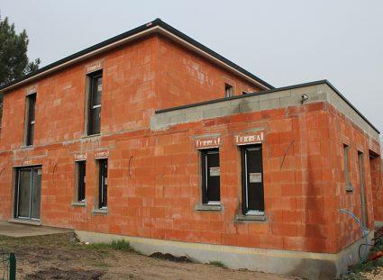 maison contemporaine bordeaux élévation des murs