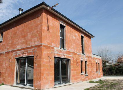 maison contemporaine bordeaux en construction