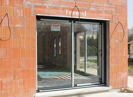 maison contemporaine bordeaux grandes baies vitrées