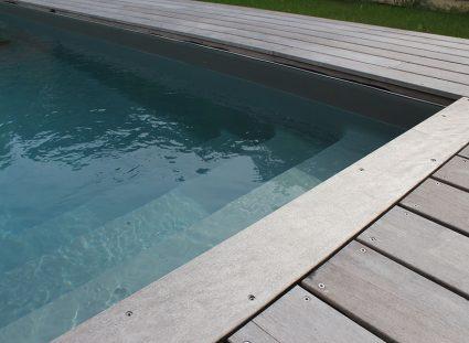 maison avec terrasse bois avec piscine