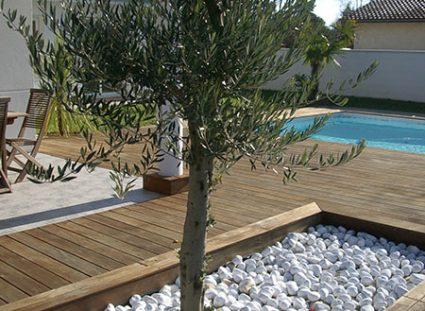 maison avec terrasse bois décoration