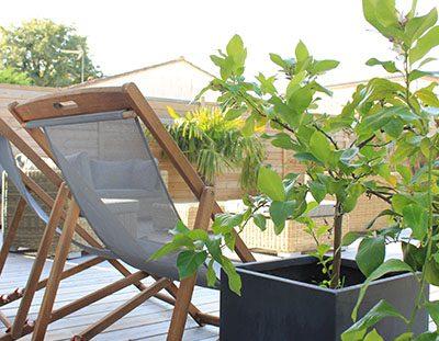 maison avec terrasse bois entretien régulier