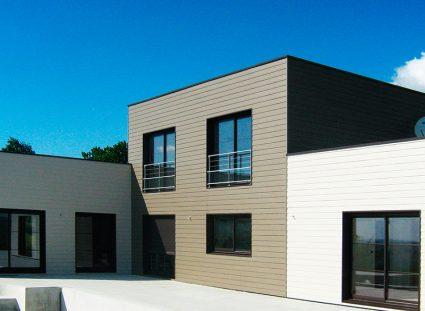 maison ossature bois composite