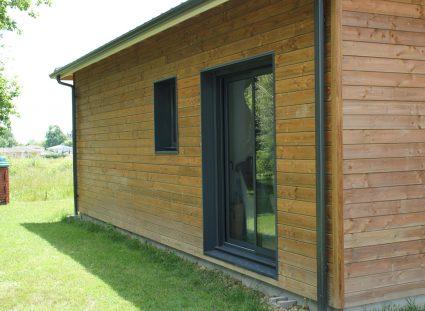 maison bois grandes ouvertures