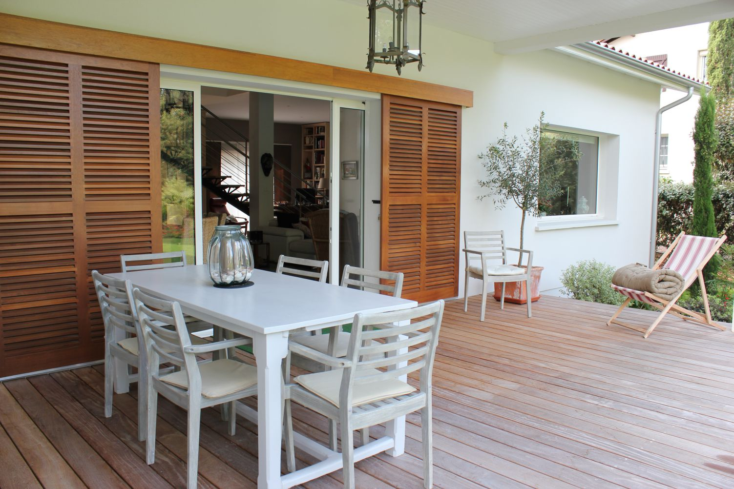 maison igc avec terrasse bois