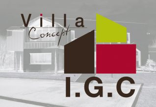 logo villa concept