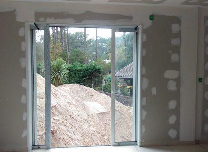 une maison arcachonnaise baies vitrées