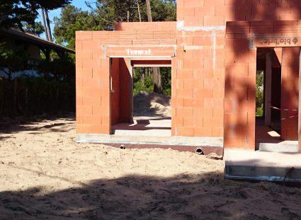 une maison arcachonnaise les pieds murs extérieurs
