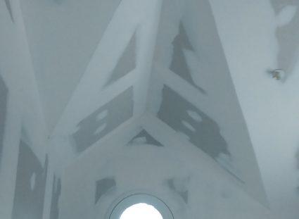 une maison arcachonnaise plâtrerie
