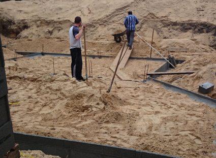 une maison arcachonnaise préparation plancher-