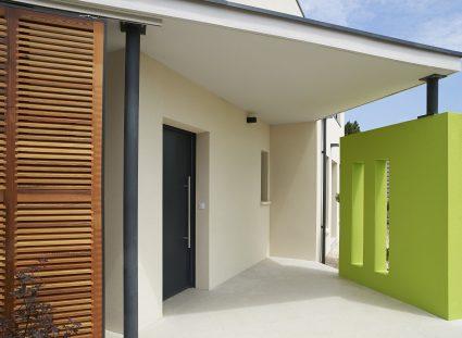 porche d'entrée design