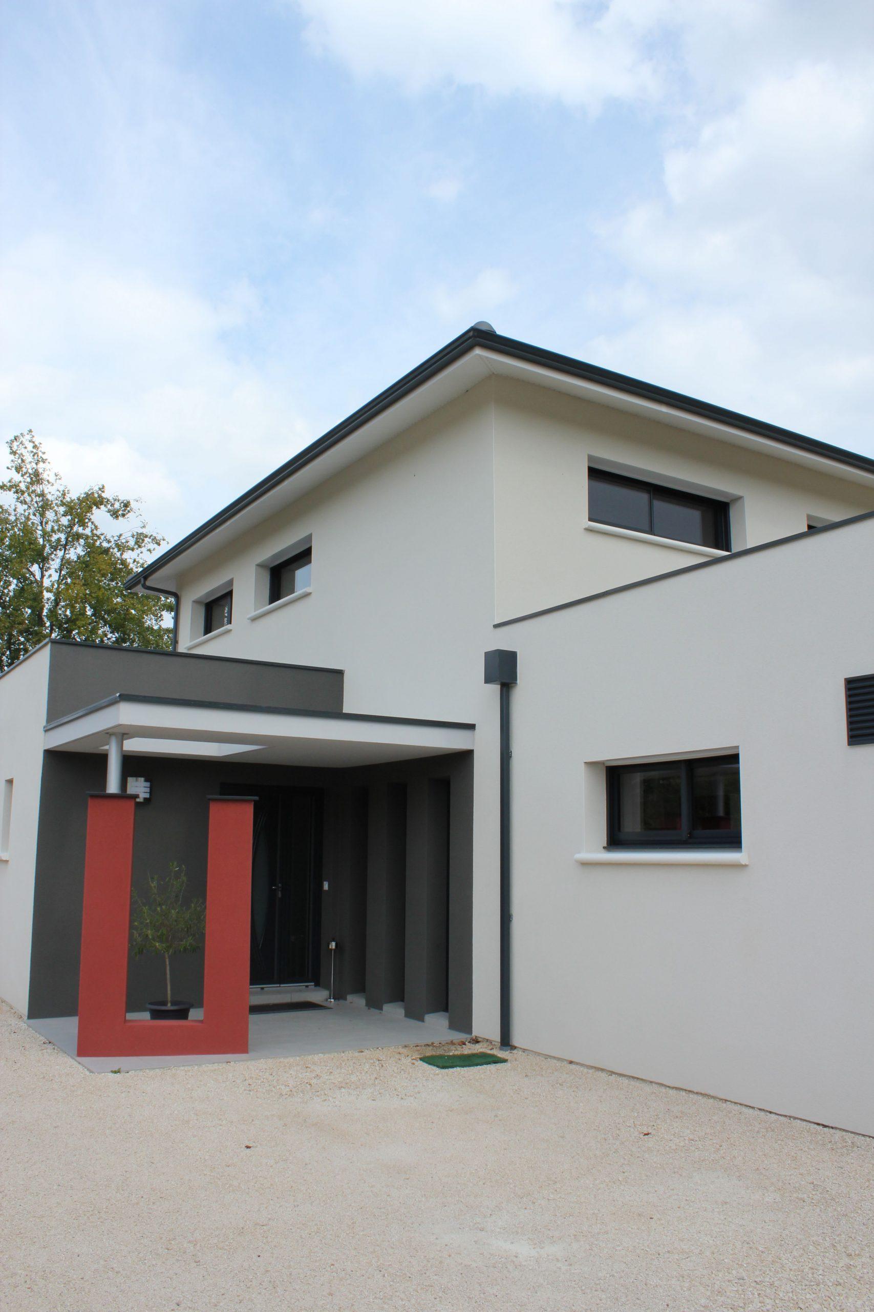 Porche D Entrée Maison Contemporaine de belles idées de porches d'entrée - quel constructeur choisir