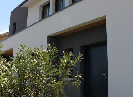 porche d'entrée minimaliste