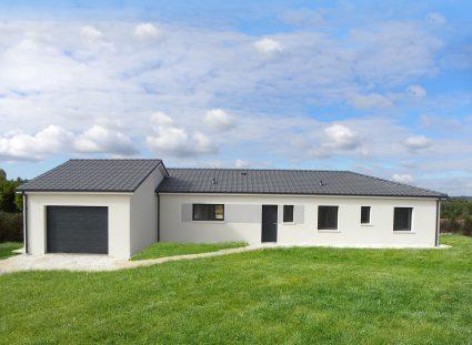 la maison neuve en Dordogne réalisation igc