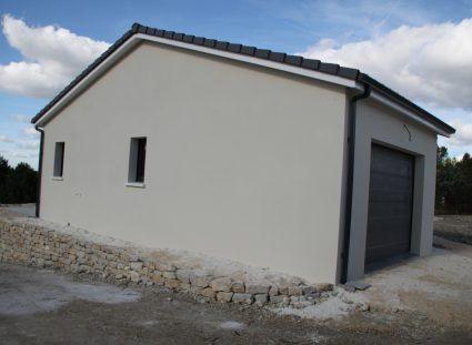 maison neuve en Dordogne garage de 30 m