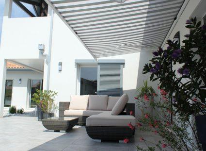 maison de famille avec terrasse