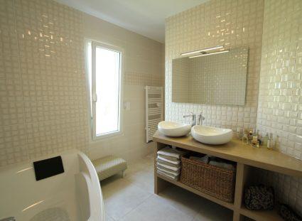 maison de famille avec douche
