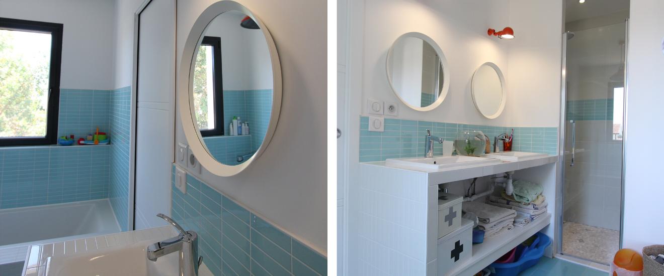 salle de bains bleu pour enfant