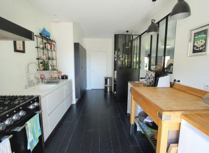 maison contemporaine nature cuisine