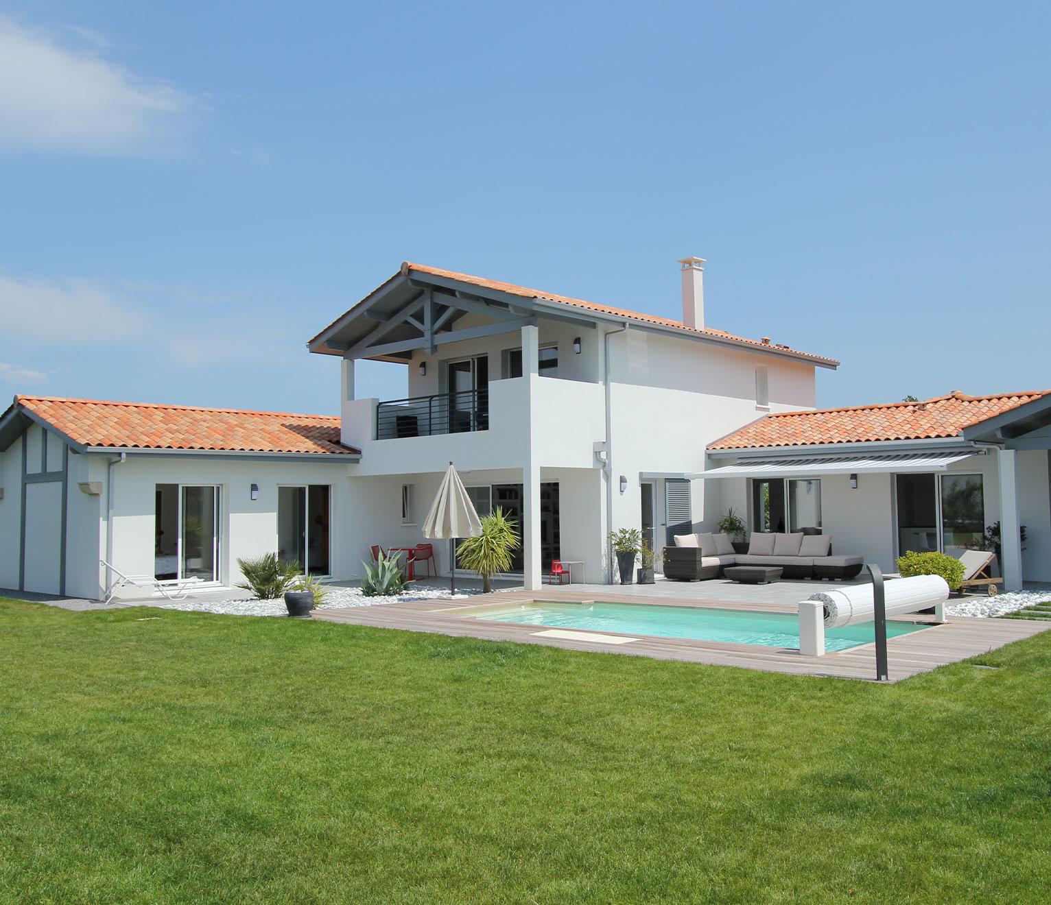 belle maison familiale dans le Pays basque