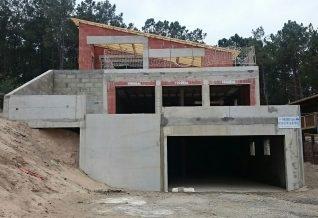 chantier IGC prémurs en béton