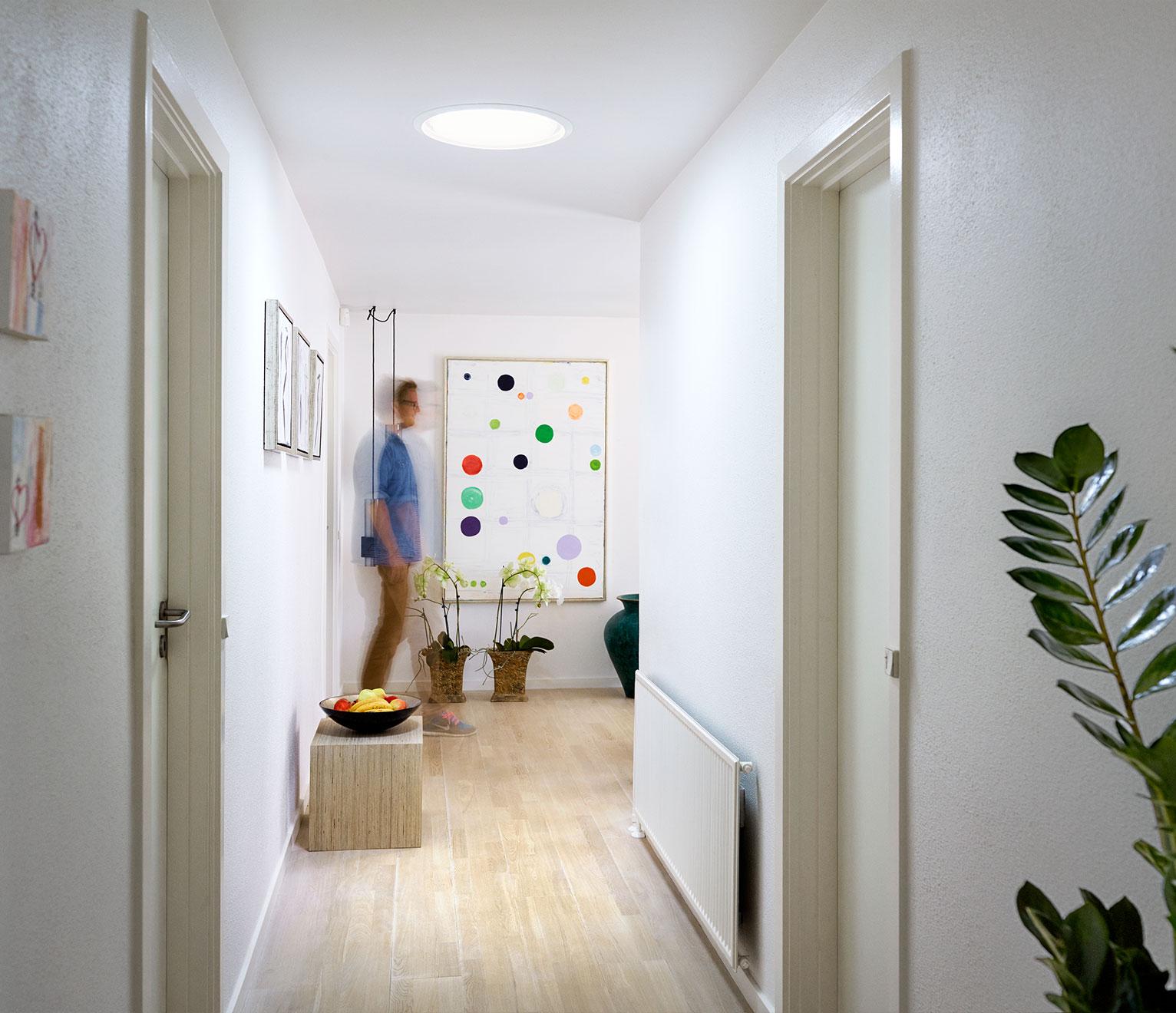 velux sun tunnel dans la maison