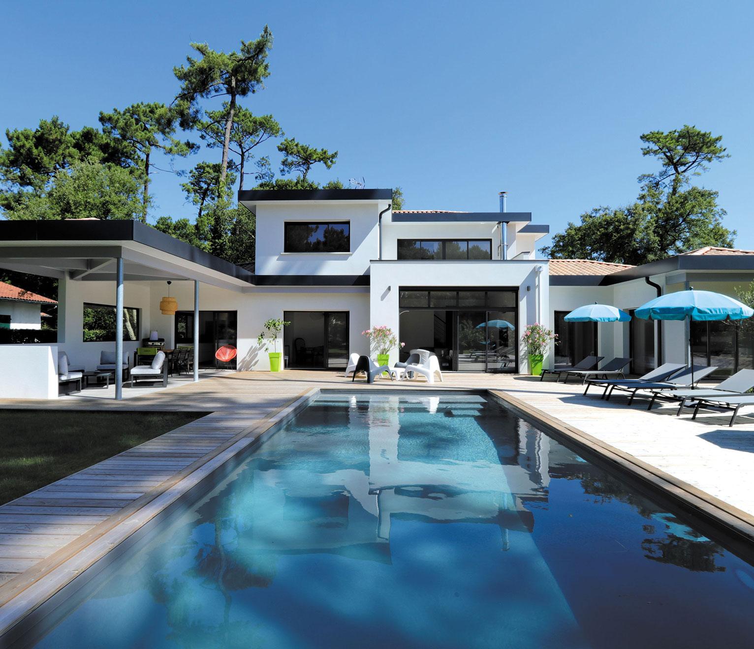 maison design signée Villa Concept d'IGC