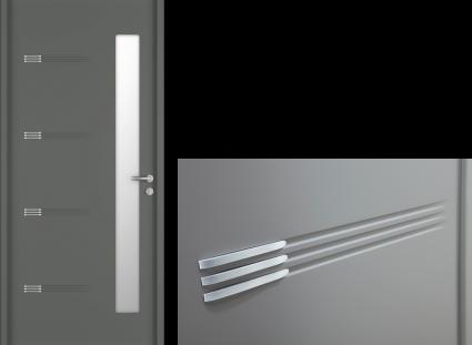 porte entrée gris 2400 texture