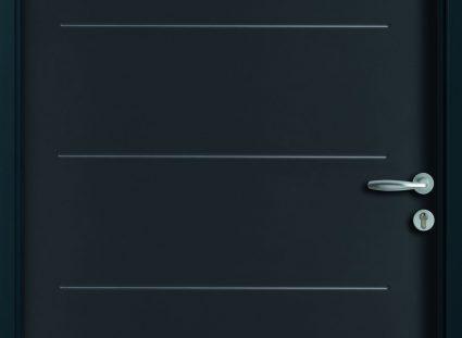 porte entrée acier belm gris 7016 texture