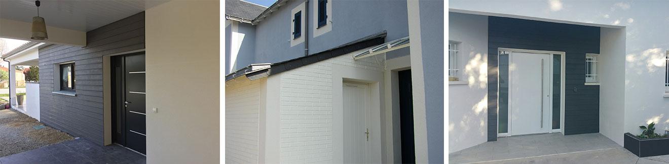 façade enduit maison personnalisable minéral matrice