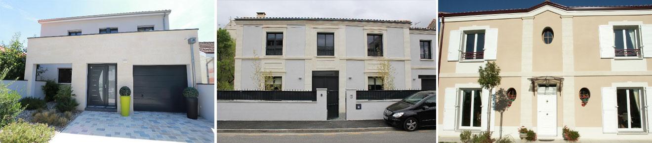 façade maison pierre de taille élégance