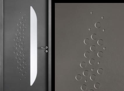 porte entrée gris 2900 texture