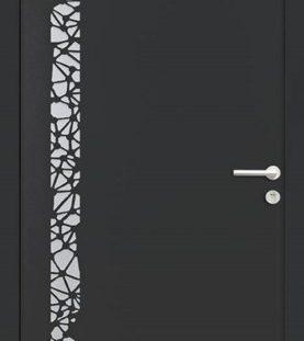 porte entrée noir 2100 texture