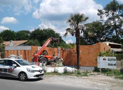 chantier maison bassin d'arcachon