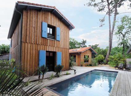 maison au cap ferret avec piscine