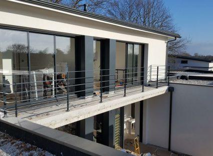 finitions extérieures étage