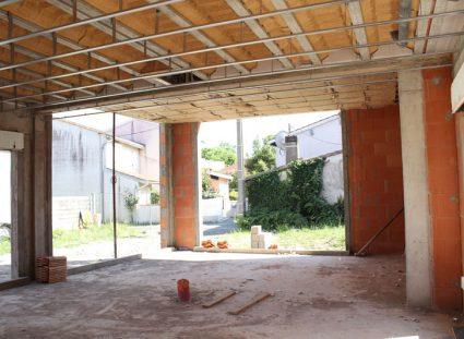 Isolation du plafond en laine minérale