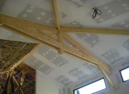 Maison a étage ossature bois hauteur sous plafond
