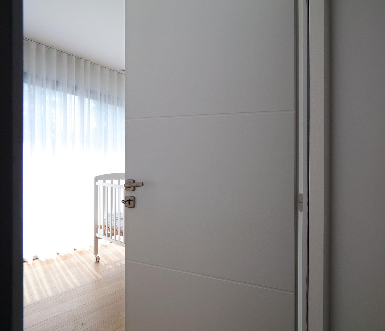 Portes intérieures igc couleur personnalisée