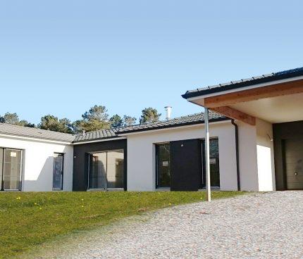 Le chantier d'une maison contemporaine IGC