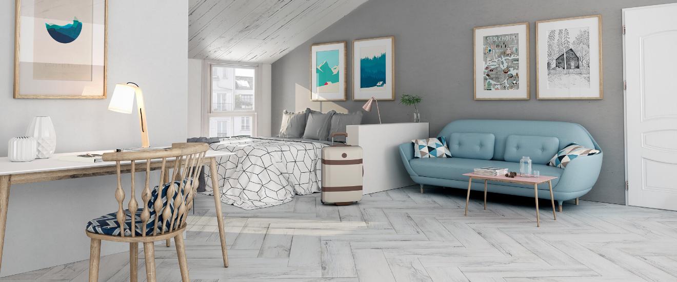 carrelage effet bois coloris white