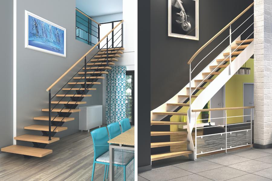 escaliers personnalisables