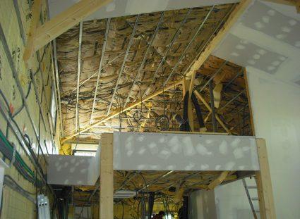 maison a étage ossature bois charpente
