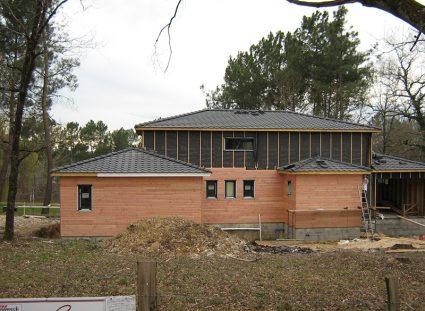 maison a étage ossature bois construction