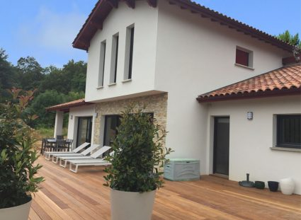 maison contemporaine basque