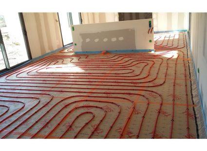 maison charentaise contemporaine plancher chauffant