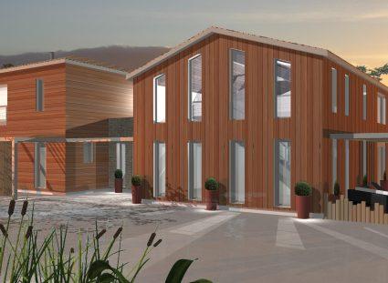 maison contemporaine en ossature bois avant projet 012